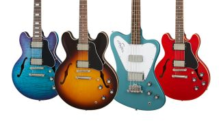 2021 Gibson Electric and Bass guitars