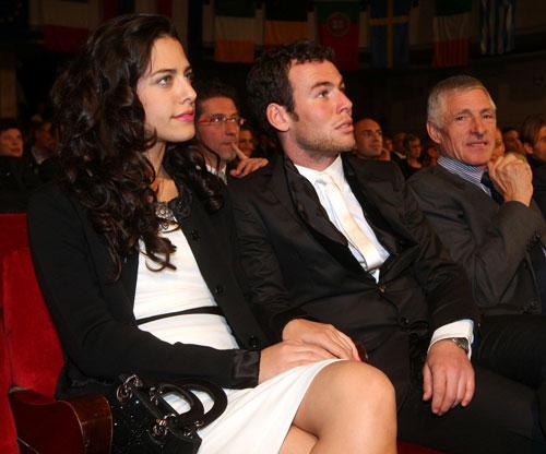 Fiorella Migliore and Mark Cavendish