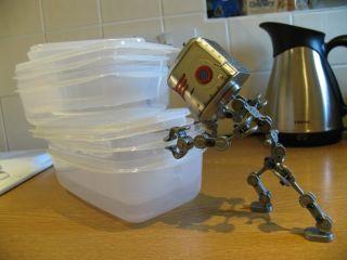 A robot helper, robots