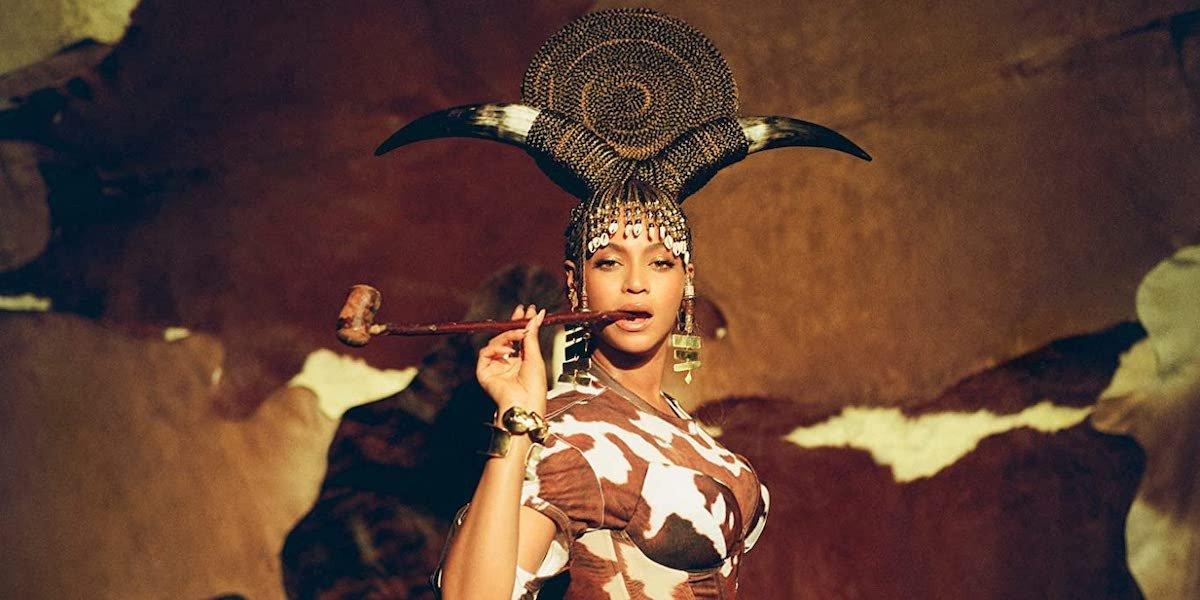 Beyonce in Black Is King on Disney+.