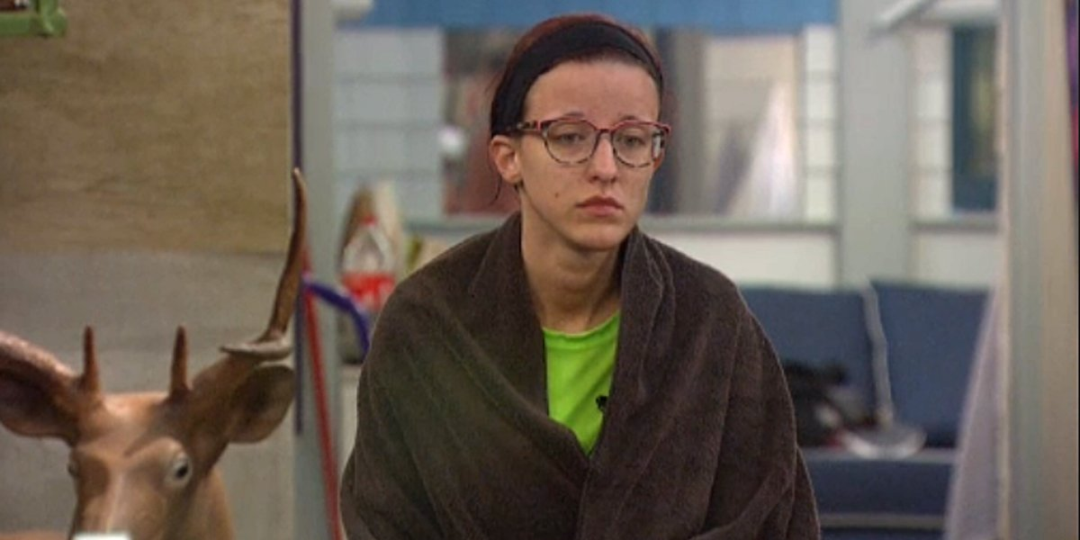 Big Brother 21 Nicole after Final 4 HOH CBS