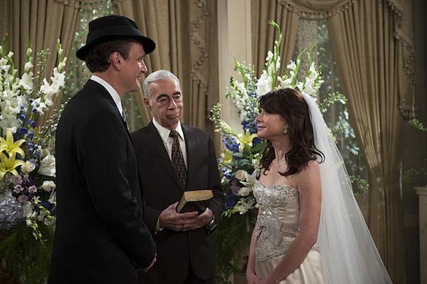 Lily and Marshall wedding