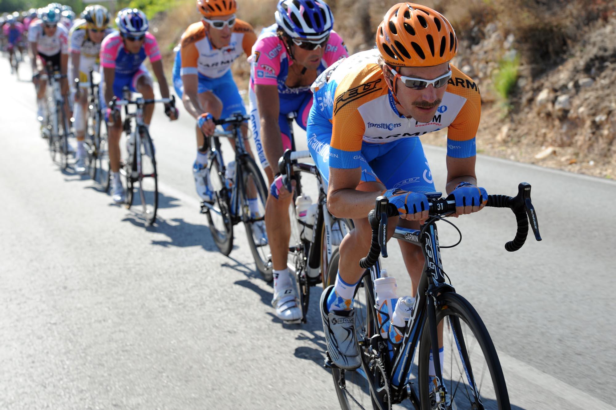 David Zabriskie leads chase, Vuelta a Espana