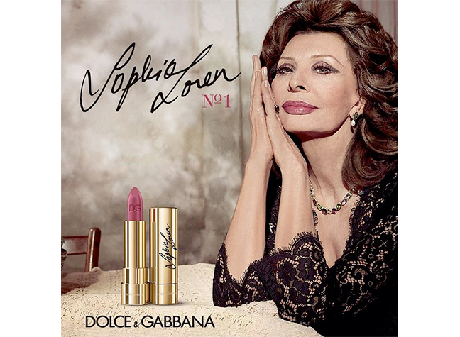 037114e0 The tribute is a match made in makeup heaven, pairing Dolce & Gabbana's  signature glamour with the timeless beauty of an undeniable, inimitable  icon.