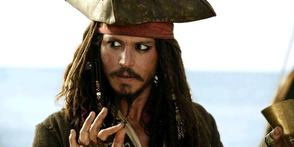 Johnny Depp as Captain Jack Sparrow Pirates of the Caribbean