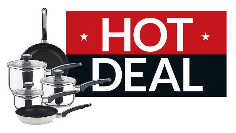 Cheap saucepan deals: 25% off Circulon, Prestige and Joe Wicks cookware