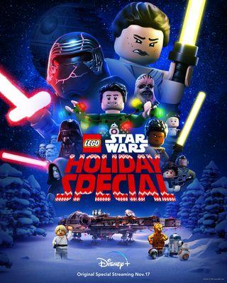 Disney Plus sets Nov. 17 'Lego Star Wars Holiday Special'