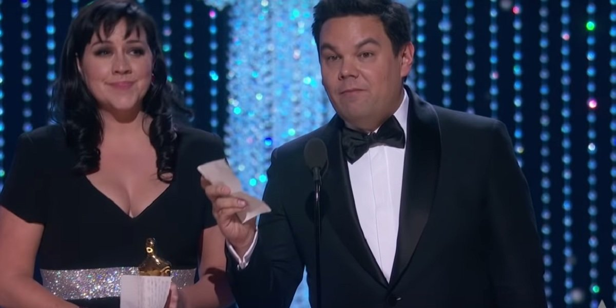 Robert Lopez and Kristen Anderson-Lopez win 2018 Academy Award for Coco