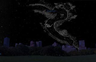 Eridanus Sky Map December 2012