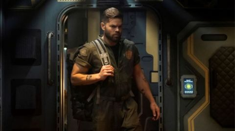 Amos (Wes Chatham) in 'The Expanse'.