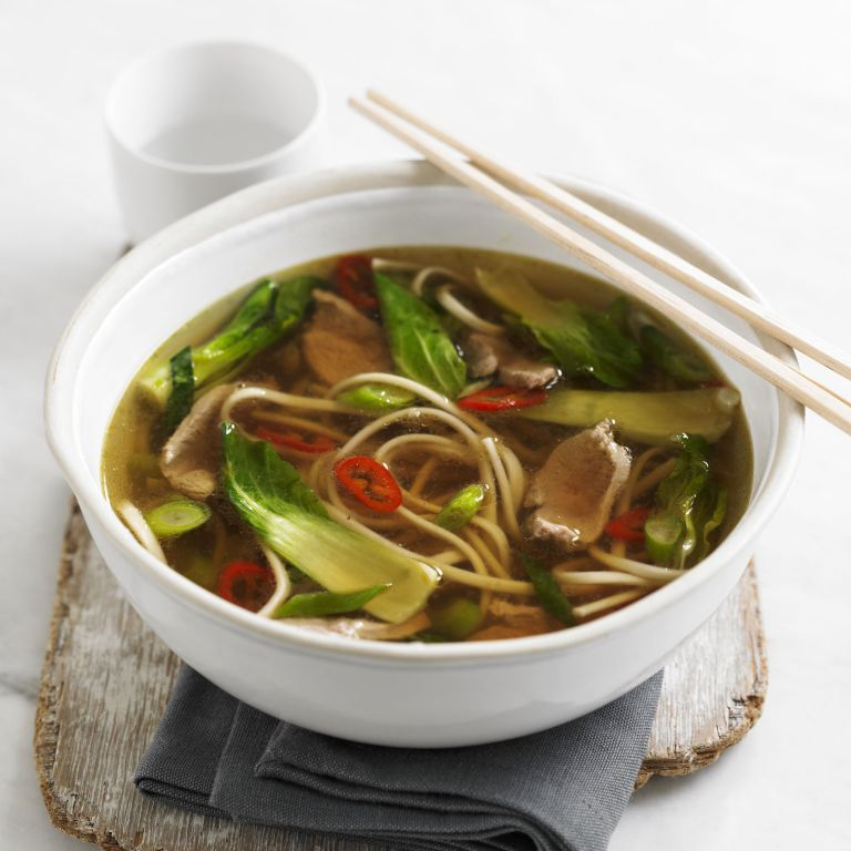 Duck & Noodle Soup recipe-Duck recipes-recipe ideas-new recipes-woman and home