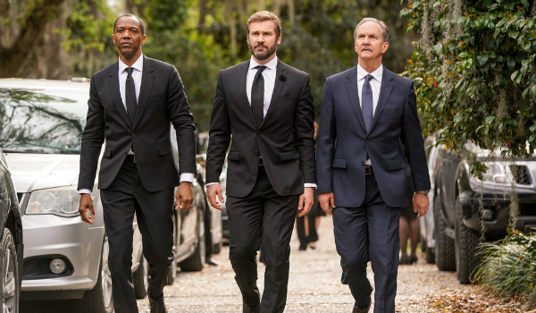 Council of Dads J. August Richards Dr. Oliver Post Clive Standen Anthony Lavelle Michael O'Neill Lar