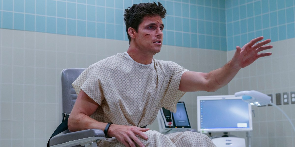 Robbie Amell in Upload