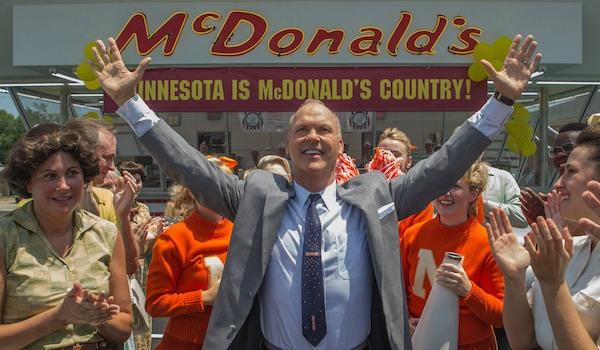 The Founder Michael Keaton McDonald's opening