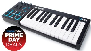 Take control of your tracks with this $50 Prime Day discount on the Alesis V25 MIDI keyboard