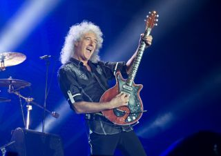 100 greatest guitar solos no 20 bohemian rhapsody brian may guitarworld. Black Bedroom Furniture Sets. Home Design Ideas