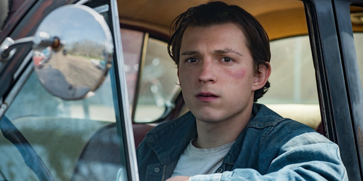 Tom Holland in Devil All The Time