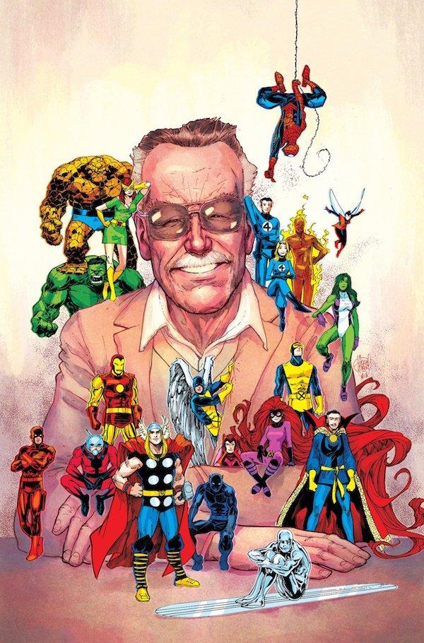 Stan Lee's tribute phoo