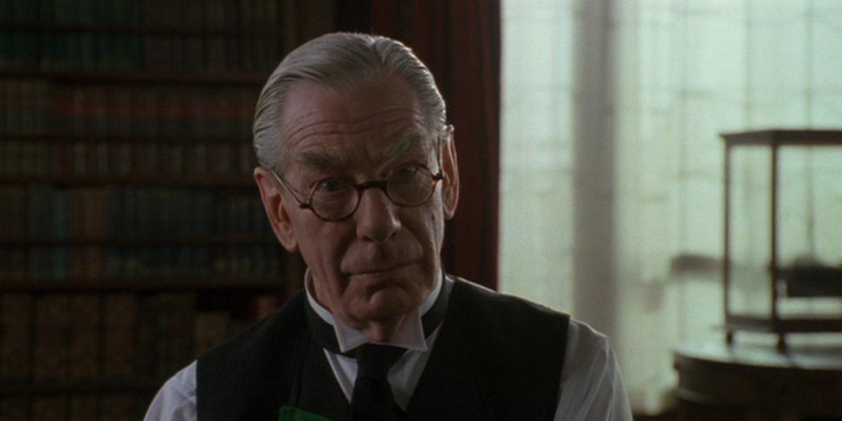 Michael Gough as Alfred Pennyworth in Batman