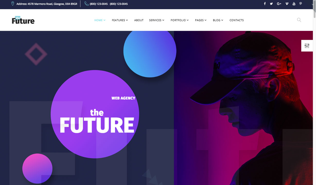 The 10 best HTML5 template designs: The Future