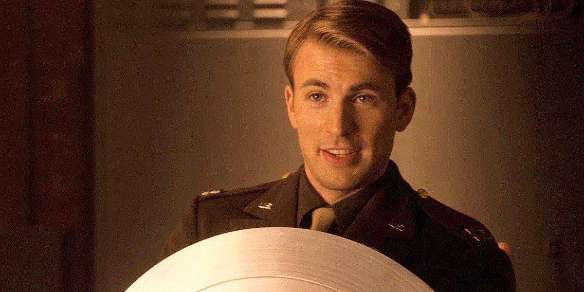 Chris Evans as Steve Rogers in Captain America: The First Avenger (2011)