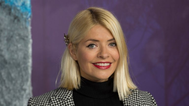 """Holly Willoughby feeling 'really sad', attends the """"Frozen 2"""" European premiere at BFI Southbank on November 17, 2019 in London"""