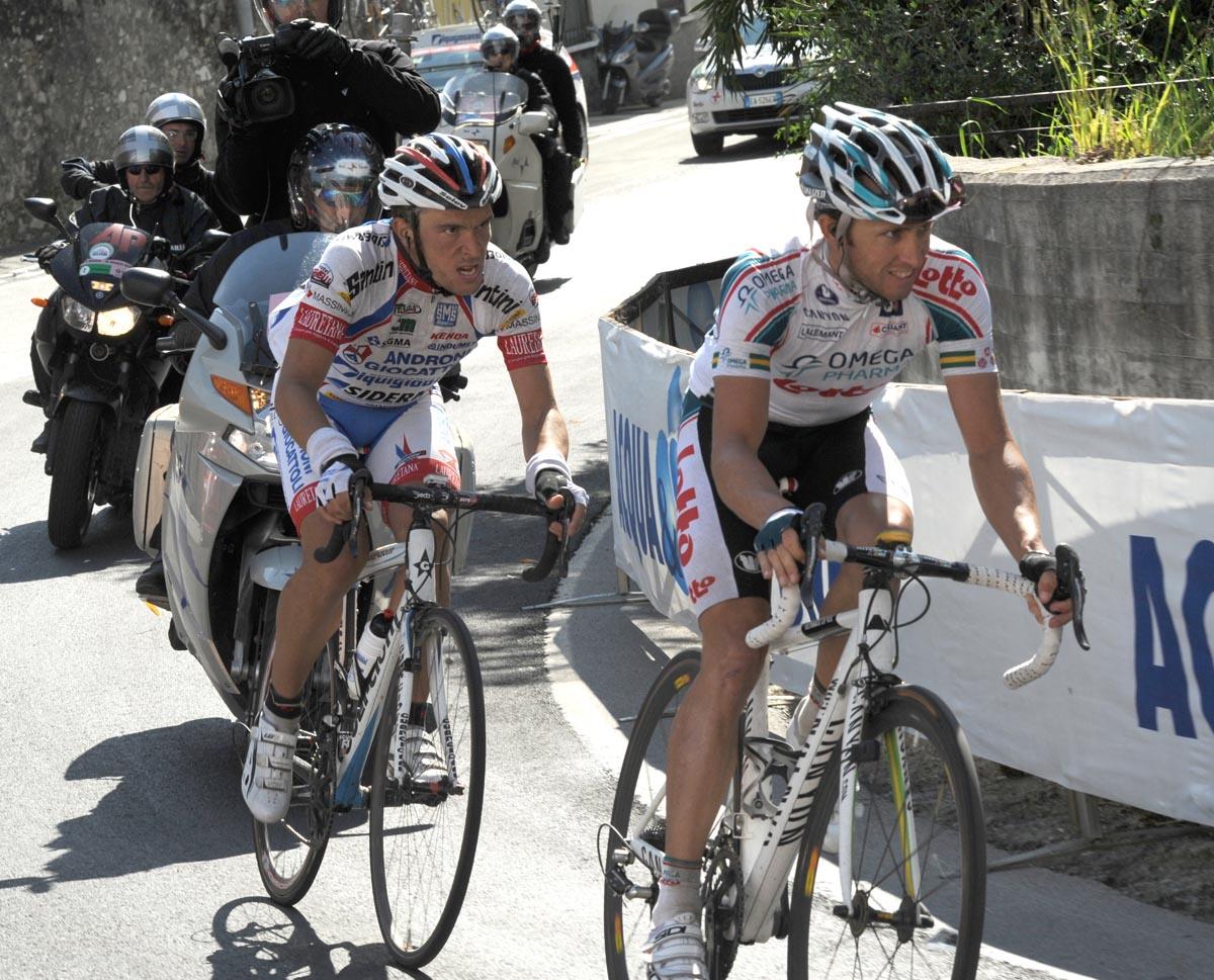 Matthew Lloyd and Rubens Bertogliati, Giro d