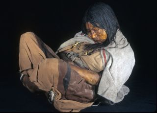 one of three Incan child mummies called the Maiden