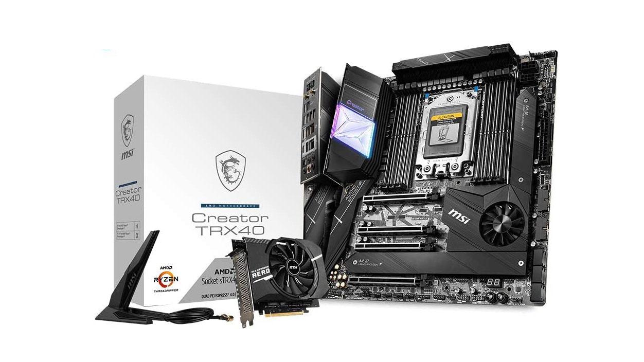 Best motherboards: MSI Creator TRX40