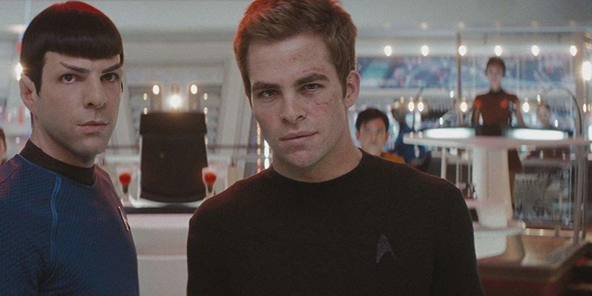 Chris Pine, Zachary Quinto - Star Trek (2009)