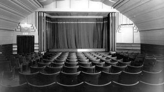 An empty cinema