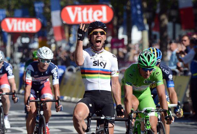 Mark Cavendish wins, Tour de france 2012, stage 20