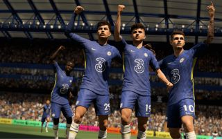 FIFA 22 on PS5