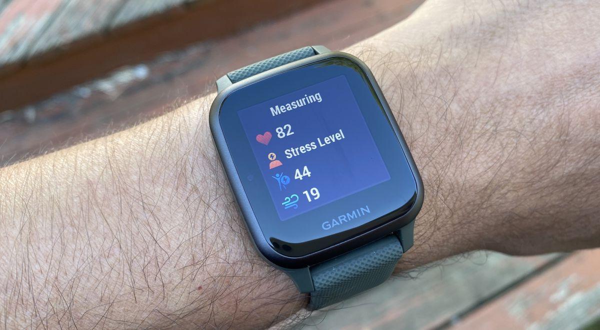 Garmin Venu Sq Music GPS Fitness Smartwatch