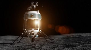 Moon Express' MX-1E spacecraft