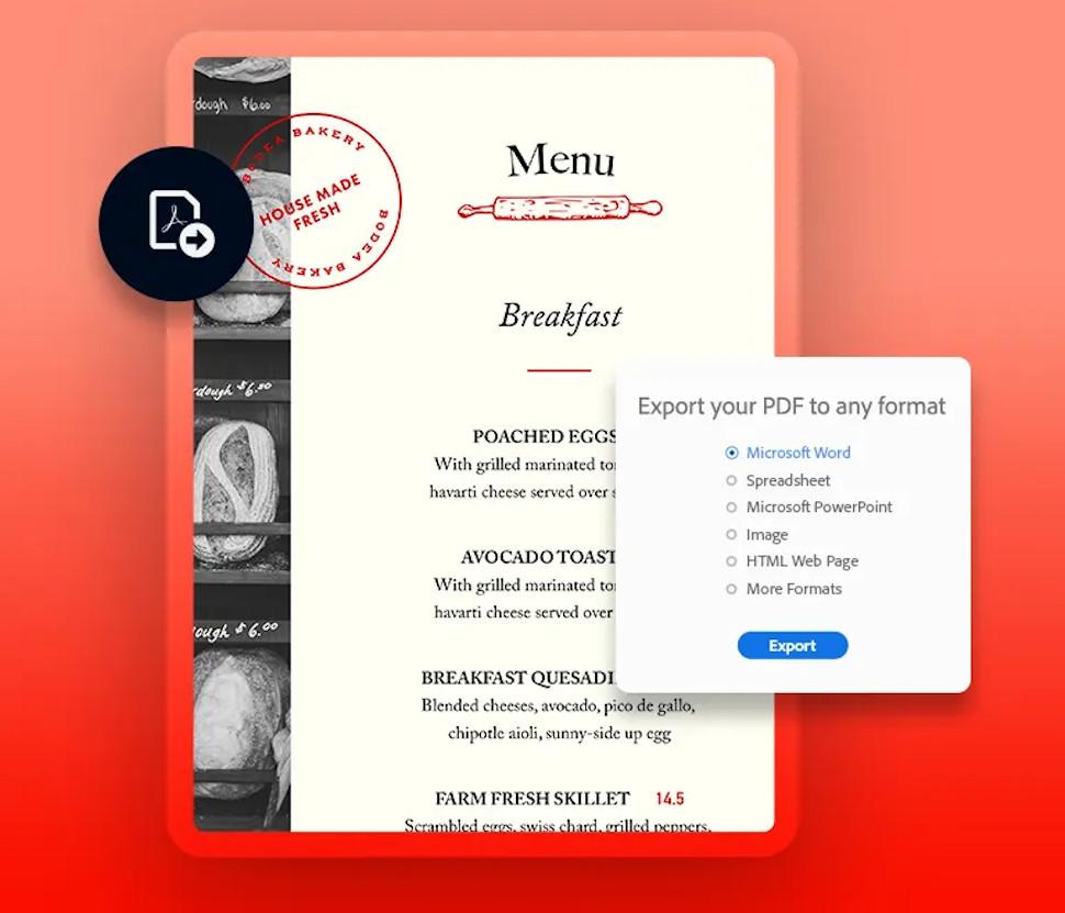 Chrome Adobe PDF convert
