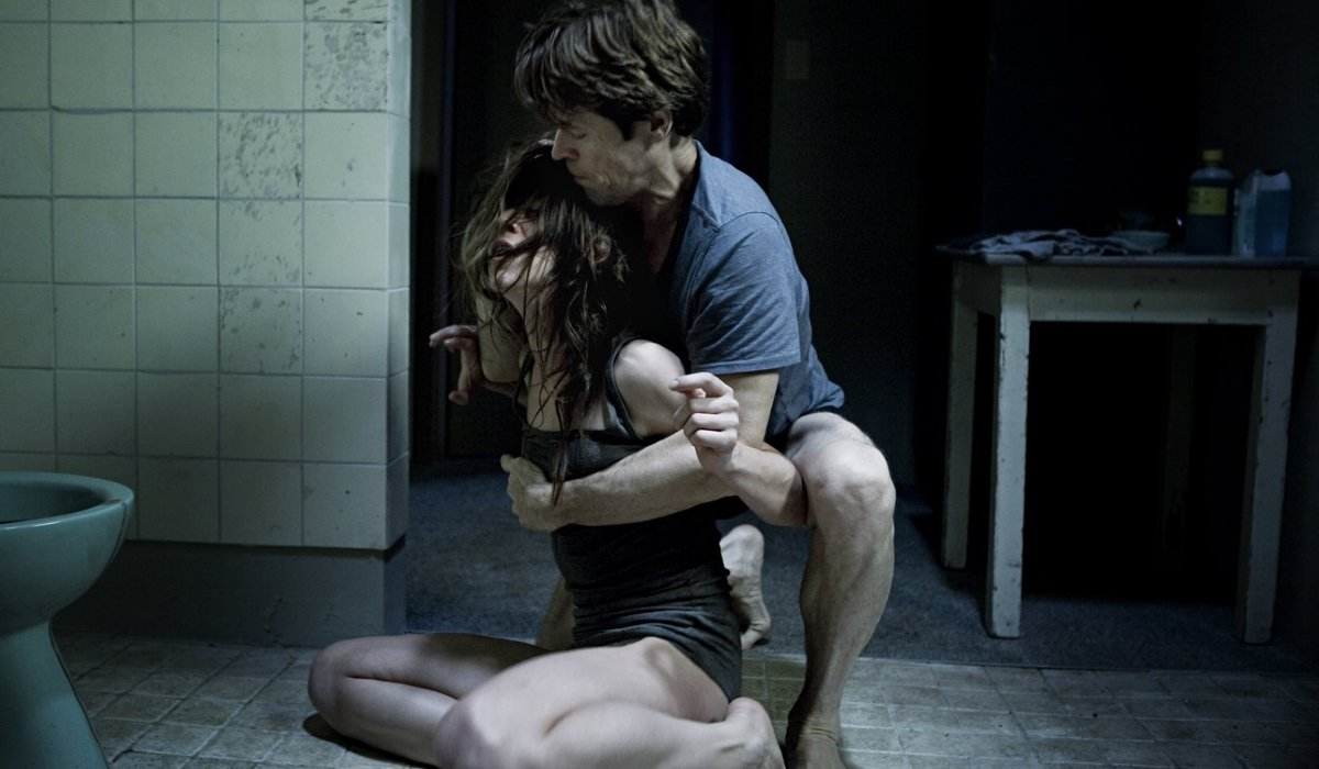 Antichrist Willem Dafoe tries to wrangle Charlotte Gainsbourg