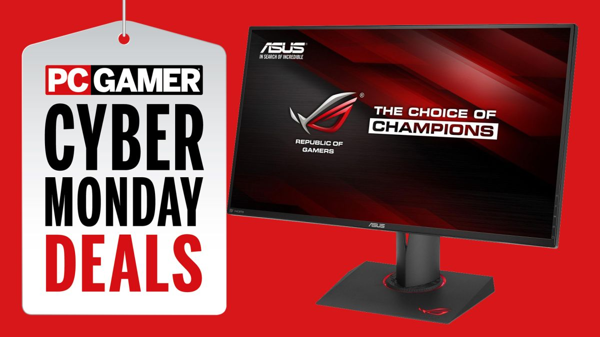 Cyber Monday Monitor Deals 2019 Pc Gamer