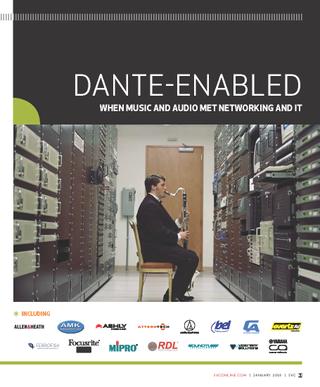SUPPLEMENT: Dante-enabled