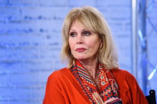 English actress Joanna Lumley has been on our screens since the 1960s.