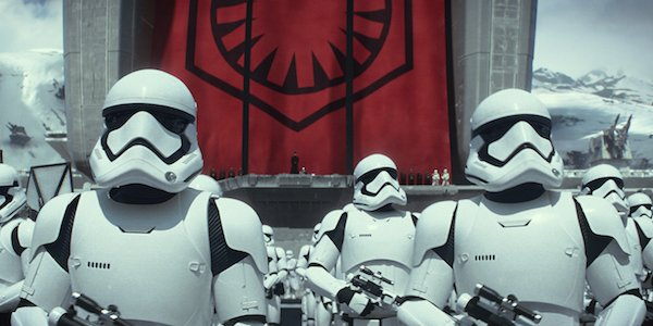 Stormtroopers in The Force Awakens