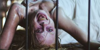 Kirby Johnson as Hannah Grace possessed in The Possession of Hannah Grace