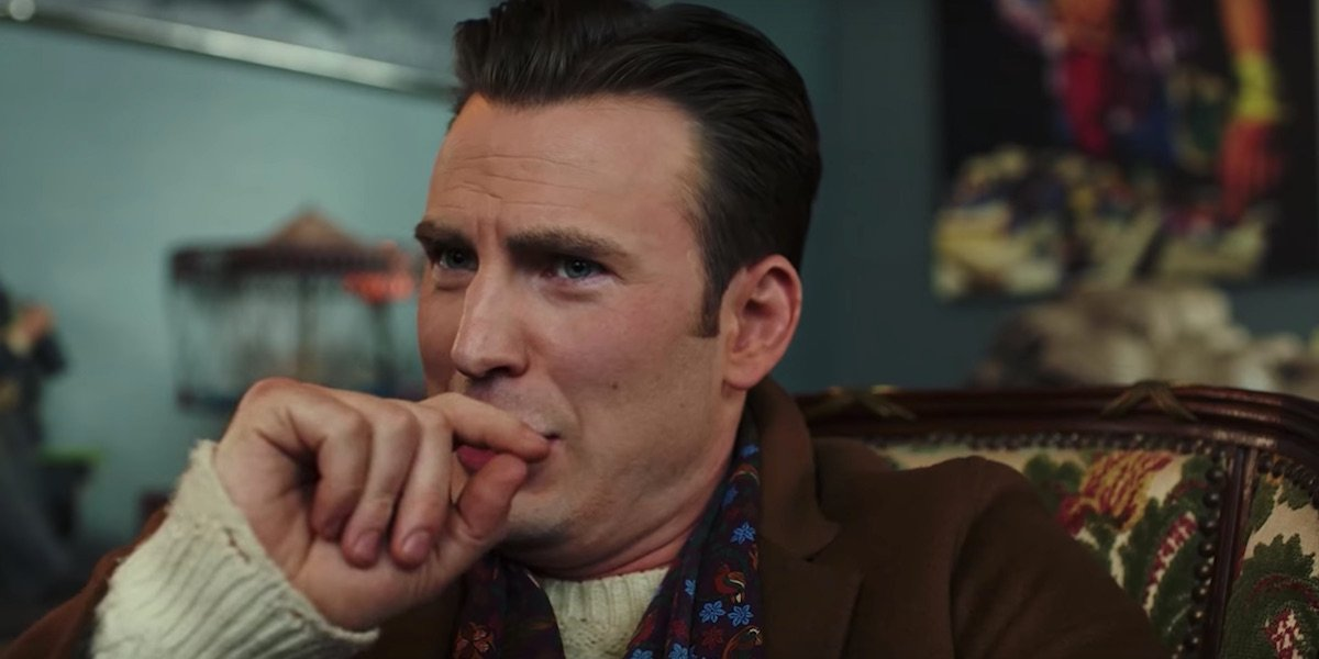 Chris Evans' Profanity-Filled Knives Out Trailer Scene Was Changed To Avoid An R Rating