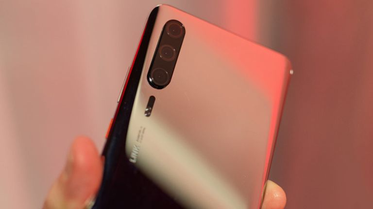This is what the Huawei P30 Pro looks like