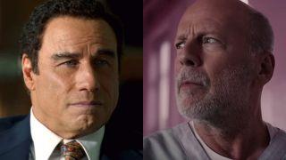 John Travolta and Bruce Willis