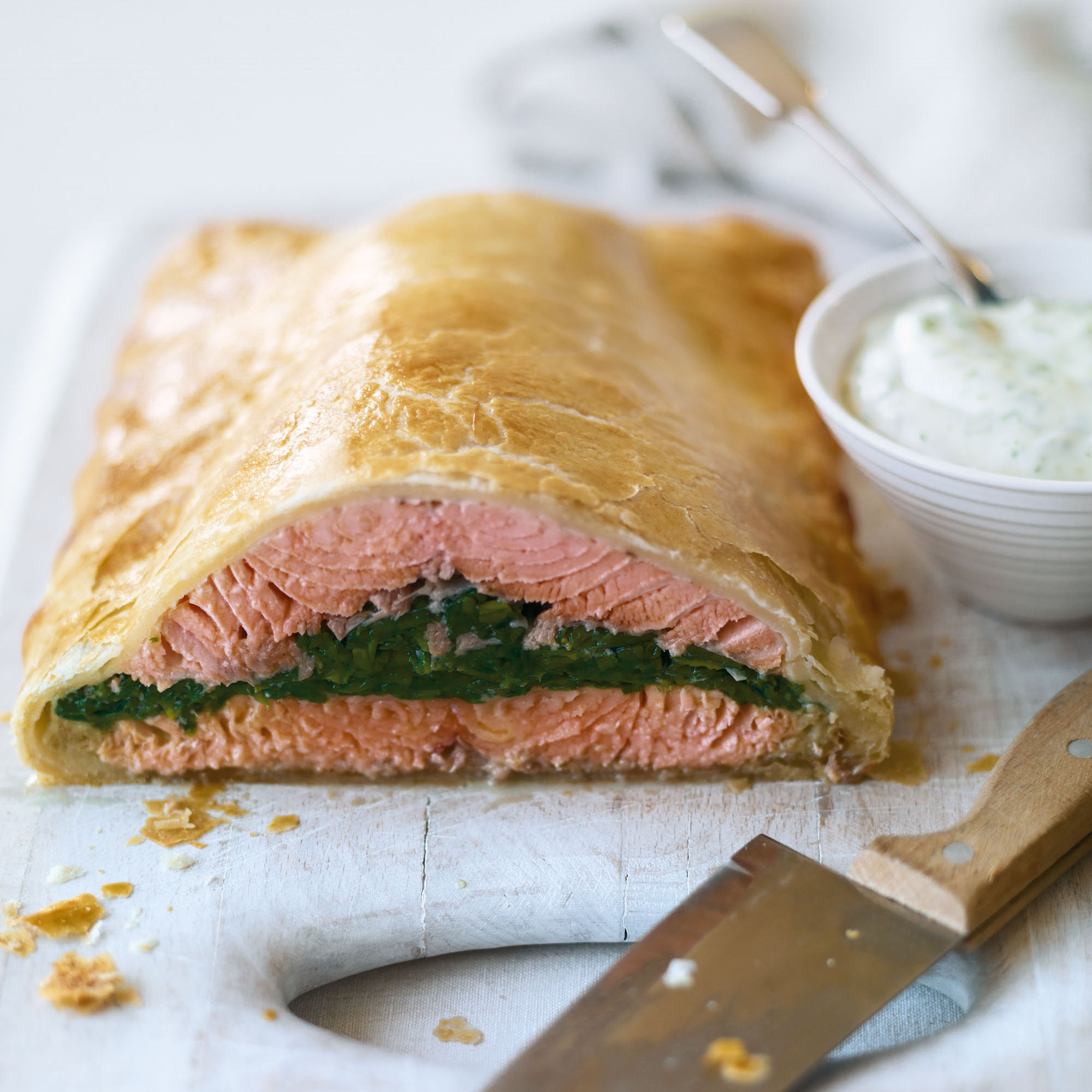 Salmon En Croute Dinner Recipes Woman Home