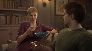 Nathan and Elena in Uncharted 4