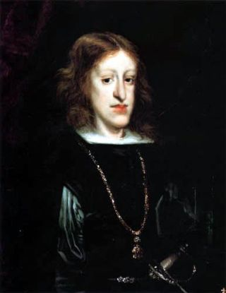 King Charles II of Spain, the last in the Habsburg line, had one of the most distinct Habsburg jaws of the family.
