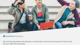 Outlook users strangely happy about paying their credit cards