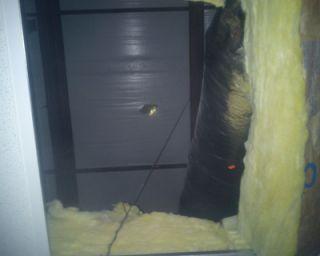 warehouse roof massachusetts falling debris